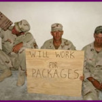 Military Salute: Team Soldier Care Package Building