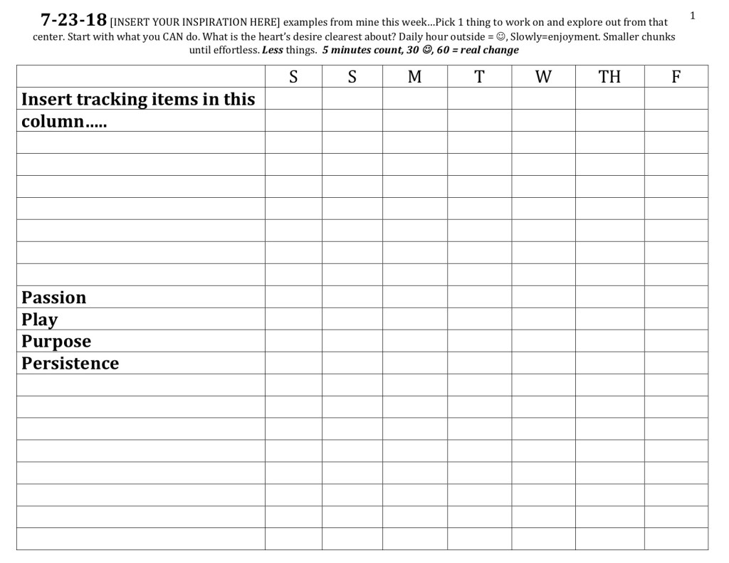 Tracking Form example1